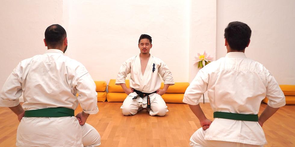 1. Erwachsenen Karate Prüfung 2020