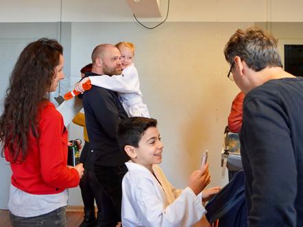 Kinder Karate Prüfung im Shinzen Dojo