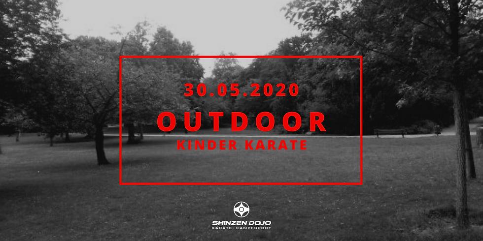 Outdoor Kinder Karate