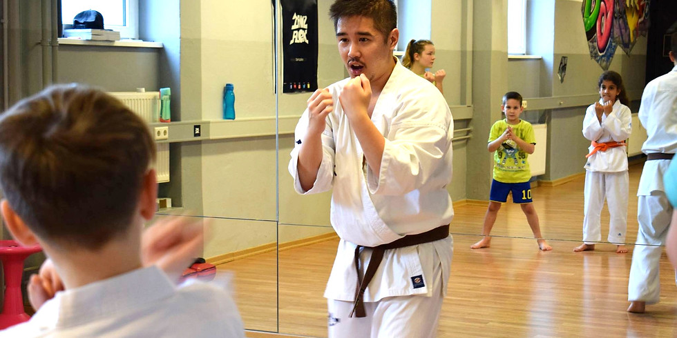 Fortgeschrittene Kinder Karate