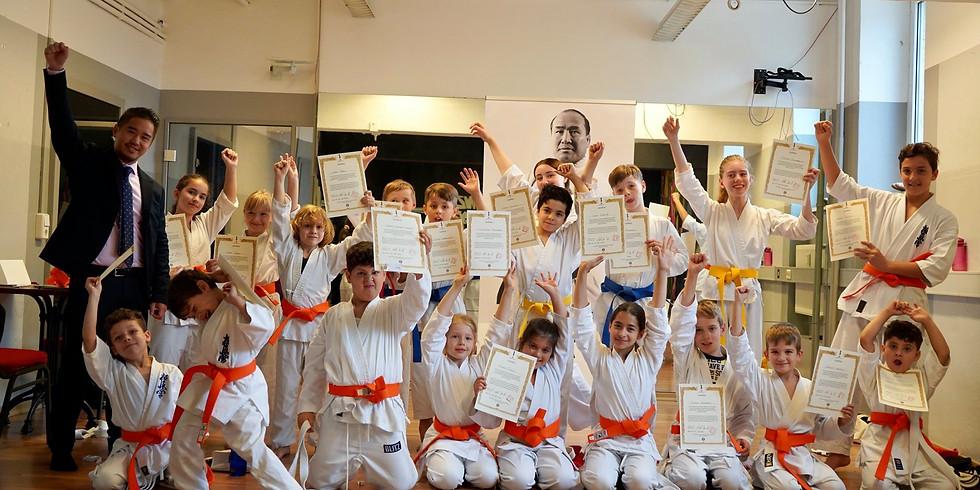 2. Kinder Karate Prüfung 2021