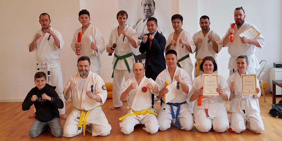 2. Erwachsenen Karate Prüfung 2021