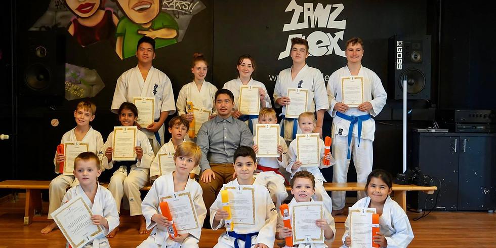 1. Kinder Karate Prüfung 2020