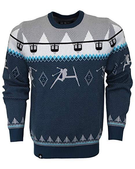 Ski The East - Men's Double Diamond Shredder Sweater