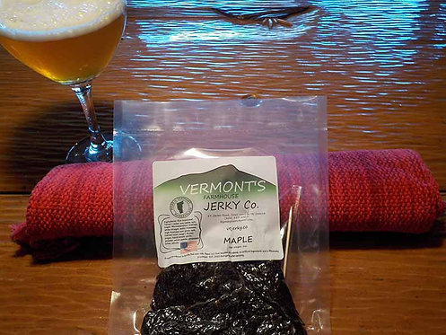 Vermont's Farmhouse Jerky Co. - Maple Beef Jerky