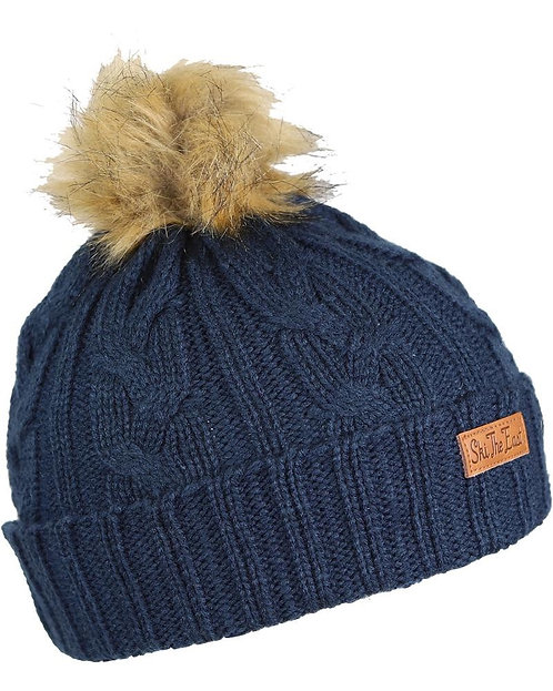 Ski The East - Women's Trapper Pom Beanie