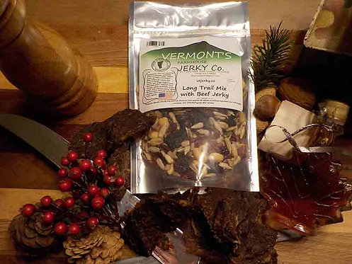 Vermont's Farmhouse Jerky Co. - Long Trail Mix with Beef Jerky
