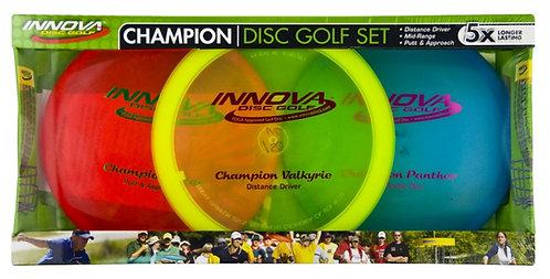 Innova Disc Golf - Champion Disc Golf Set