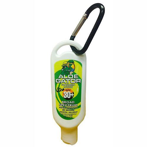 Aloe Gator - Broad Spectrum Sunscreen Lotion Keychain