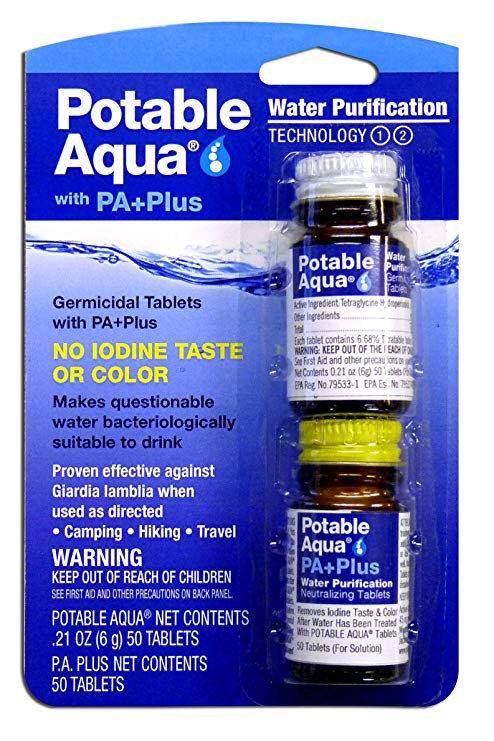 Potable Aqua - PA+Plus Water Purigication