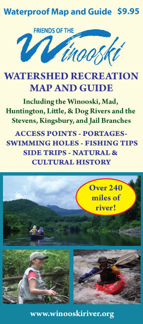 Friends Of The Winooski River Watershed Recreation Map and Guide