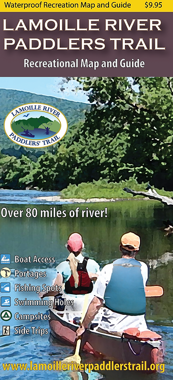 Lamoille River Paddlers Trail Recreational Map and Guide