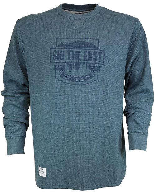 Ski The East - Men's Mansfield Waffle Long Sleeve