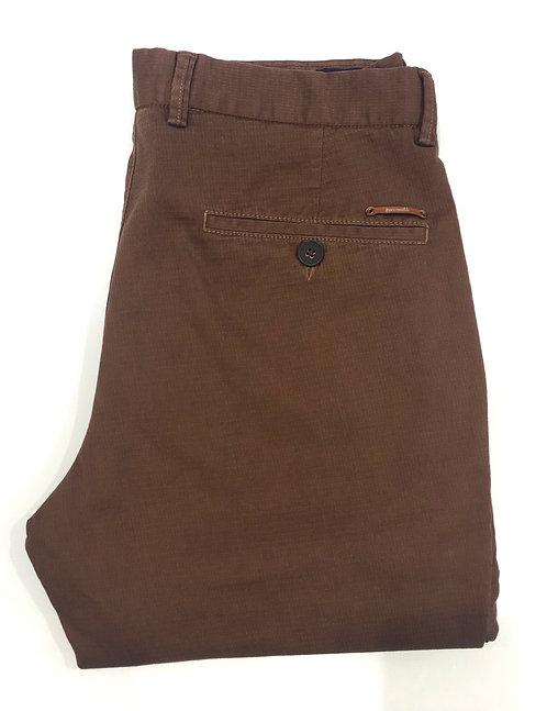 Pantalon coton marron