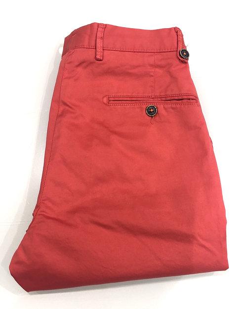 Pantalon coton rose fushia