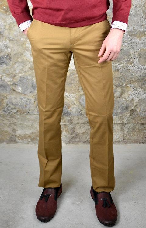 Pantalon coton camel