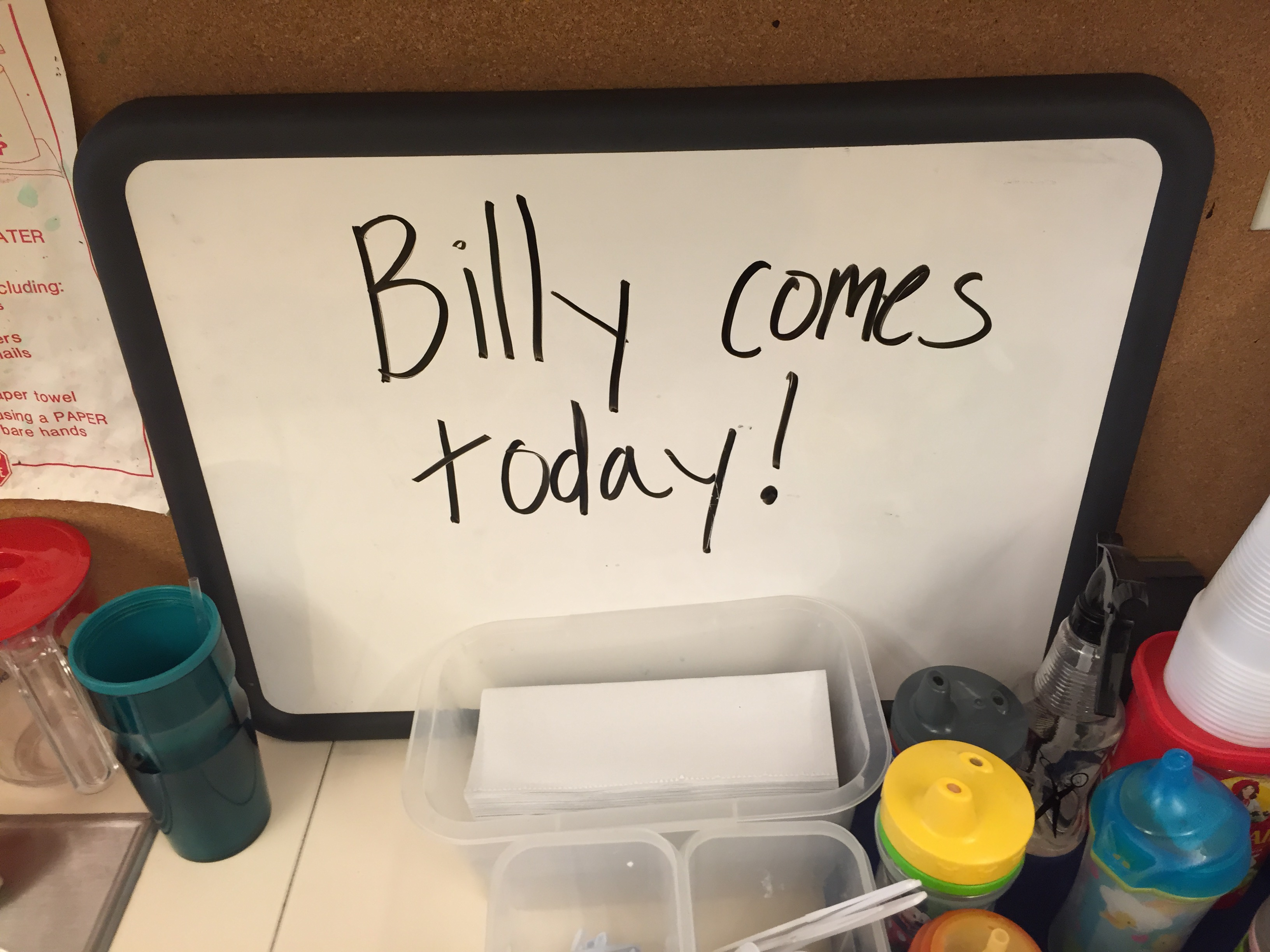Billycomestoday