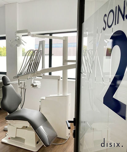 Salle de soins - dentiste