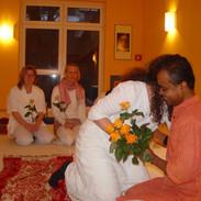 Seminar at yoga vidya.