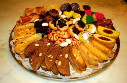 Assorted Cookie and Biscotti Tray