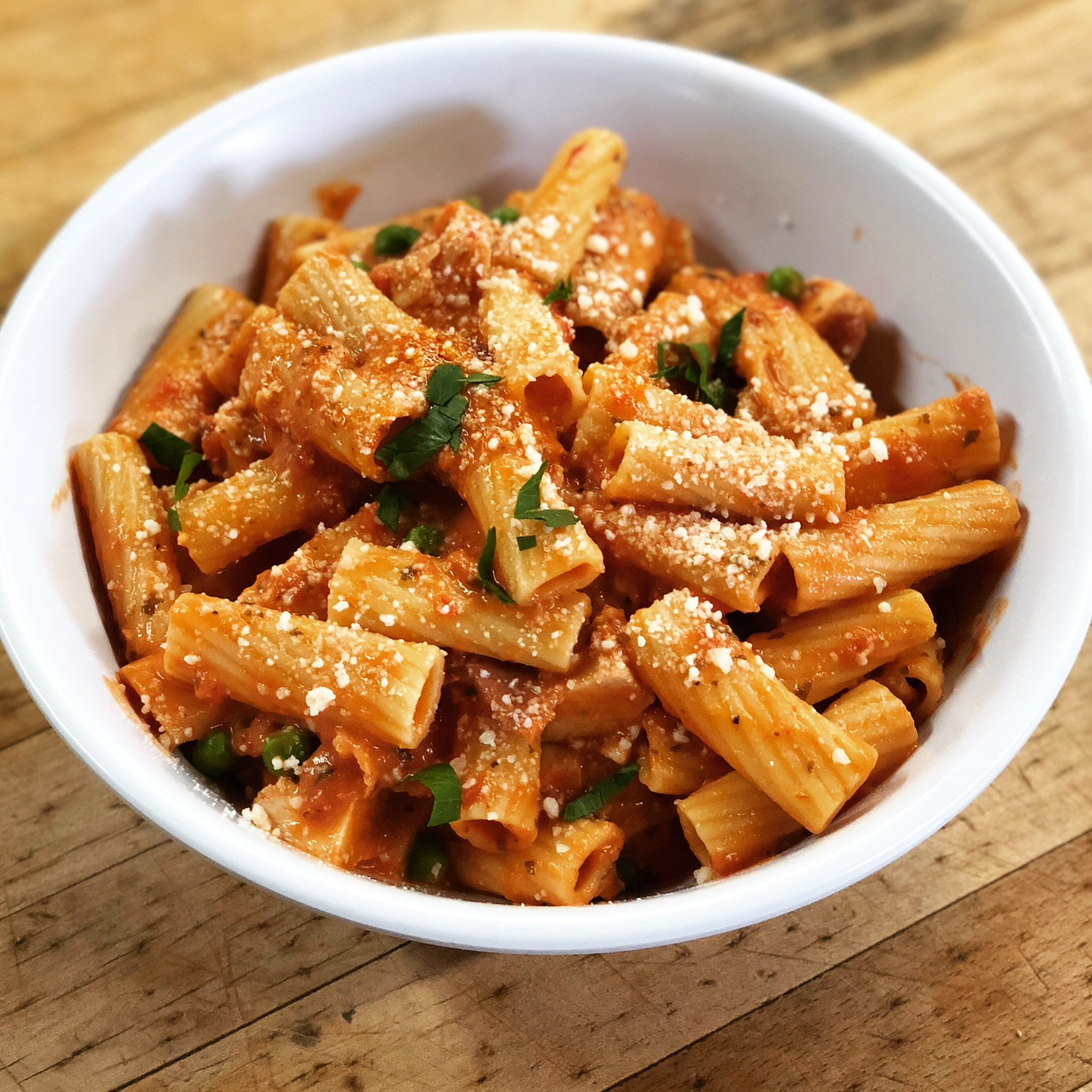 Rigatoni alla Vodka