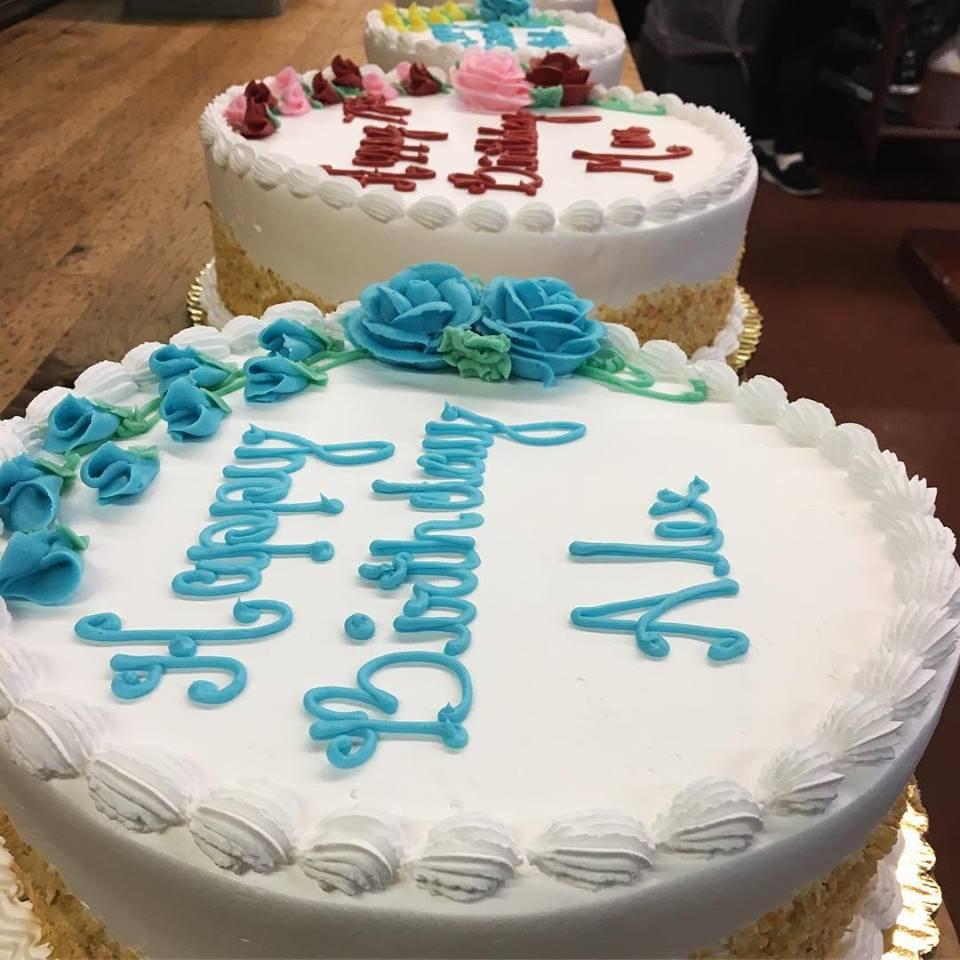 Ferrara's Classic Birthday Cake