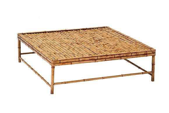 Mesa de Centro Bamboo Mel Clara