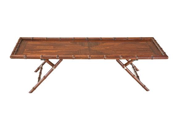 Mesa de Centro Faux Bamboo