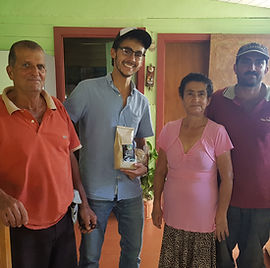 Coffee producers family
