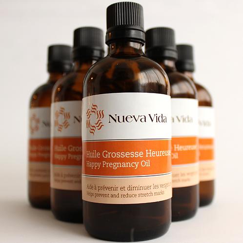 Happy Pregnancy oil / Huile de Grossesse Heureuse