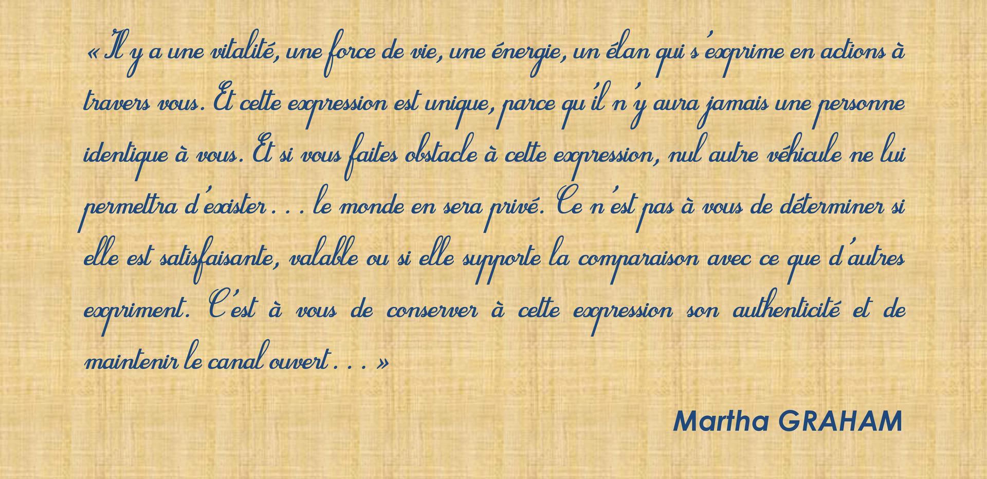 Texte Marta Graham