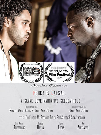 PercyCaesar Official Poster Double Laure
