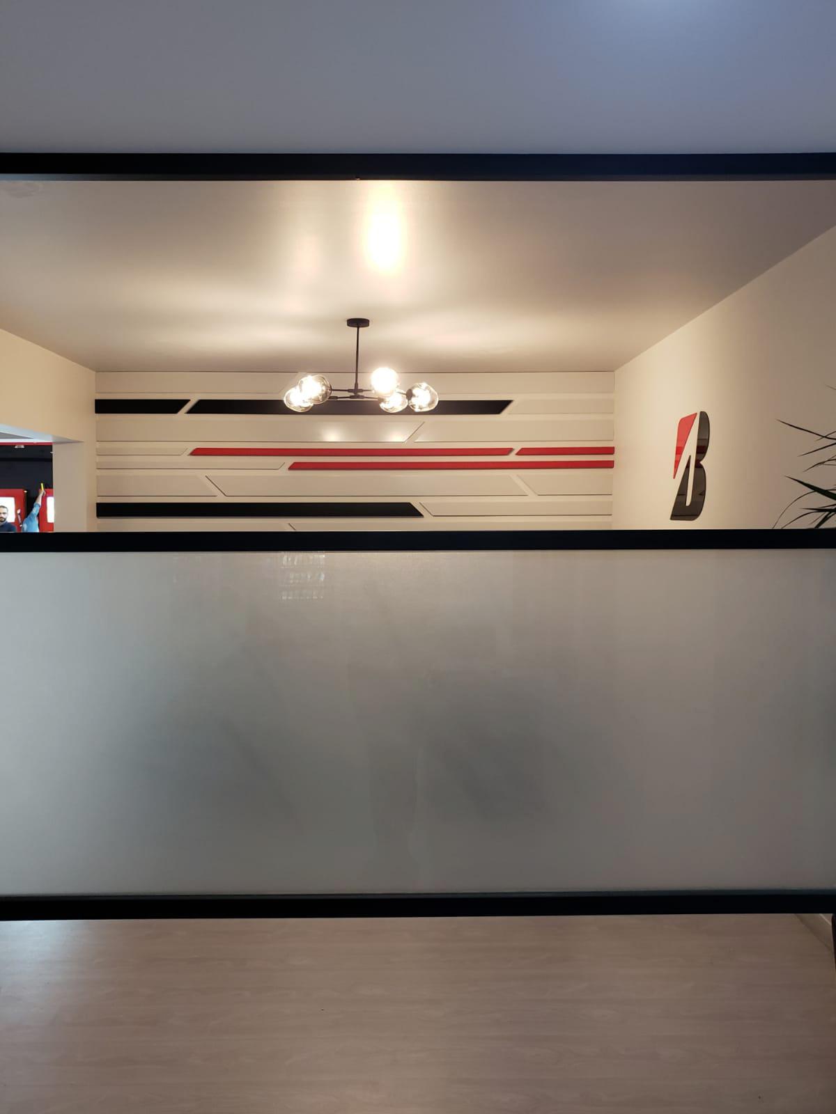 B-Lounge partition
