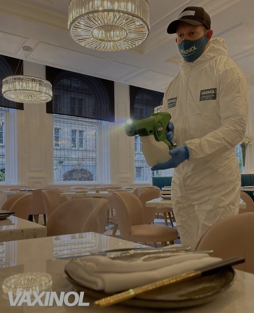 Vaxinol disinfectant spray gun