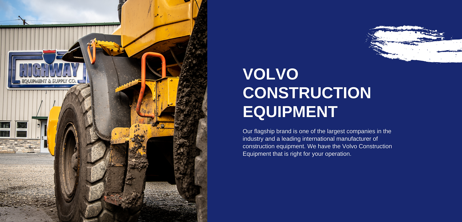 Volvo Construction Equipment at Highway