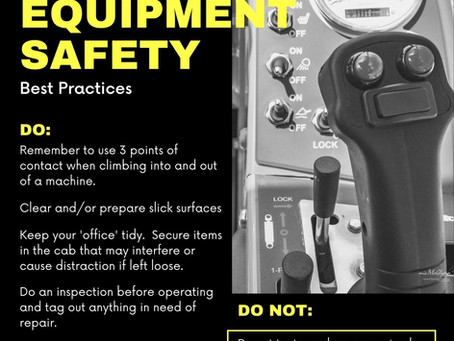 Infographic: Heavy Equipment Safety