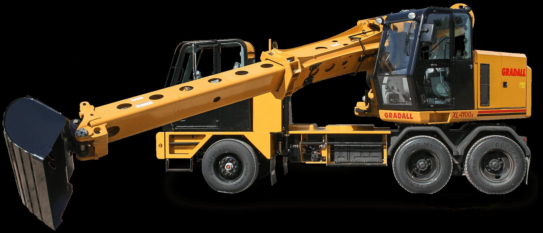 Gradall Wheeled Excavator