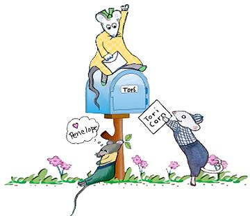 Tori Corn - Mail box mice