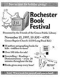 1997 Rochester Children's Book Festival Poster