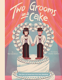 Two Grooms on a Cake