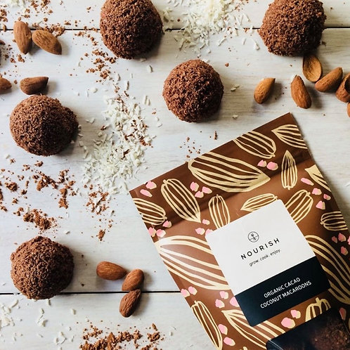 Organic Cacao Coconut Macaroons