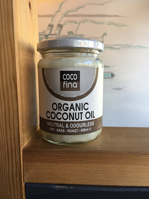 Organic Odourless Coconut Oil- 450ml