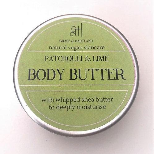 Body Butter Patchouli & Lime Grace & Hartland