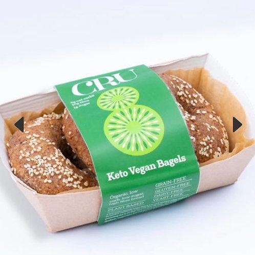 Keto Vegan Bagels (three pack)