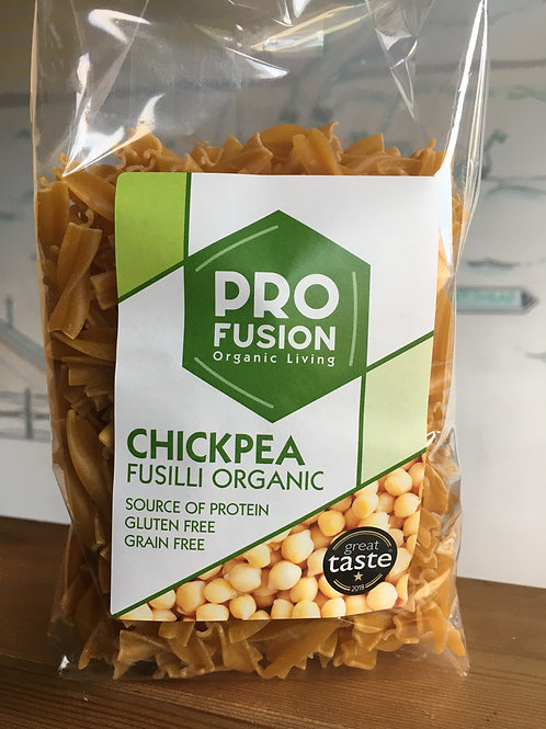 Chickpea Fusilli organic pasta
