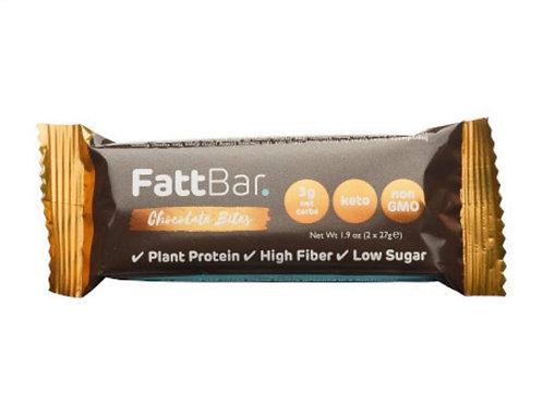 FattBar Chocolate Bites (2 x 27g)