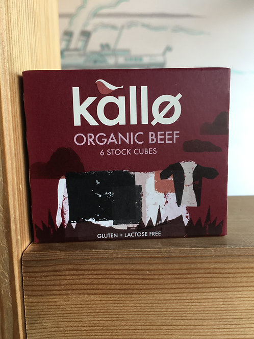 Organic Beef Stock cubes