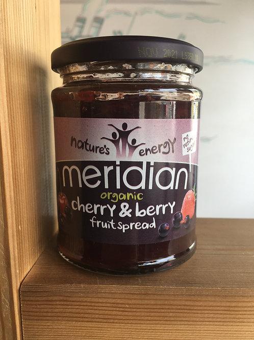 Organic Berry & Cherry Fruit Spread