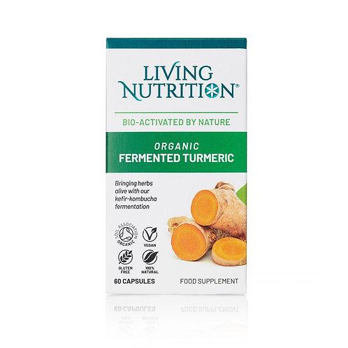 Organic Fermented Activated Turmeric- 60 capsules