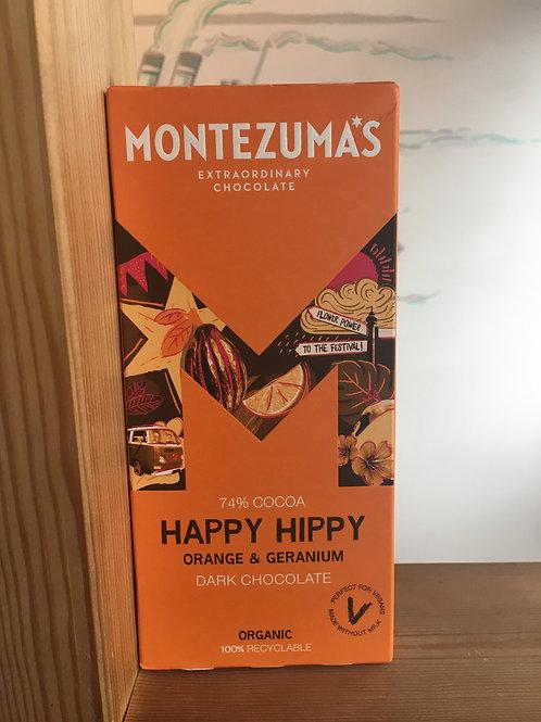 Happy Hippy- 74% chocolate with Geranium and Orange